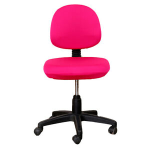 Swivel Elastic Chair Cover Stretch Computer Office Chair Protector Seat Decor