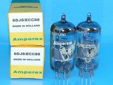 AMPEREX BUGLE BOY 6DJ8 ECC88 VACUUM TUBE LARGE O GTR CURVE TRACER MATCH PAIR A49