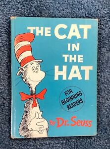"""1957 First Edition """"Cat In The Hat"""" By Dr. Seuss"""