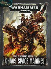 WARHAMMER 40000 40k - Codex Chaos Space Marines 8ème