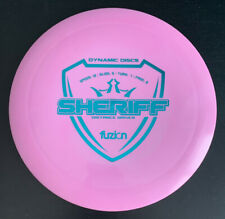 Dynamic Discs Fuzion Sheriff 175 grams