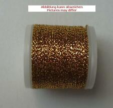 Madeira Metallic no. 25 - 40 M Colour 2537 Gold Dark