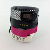 Nike Sportband Watch Pedometer & 4 Bands Bundle Kit Nike+ WM0057 Running Sports