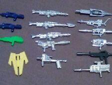 Convertors Weapons Vintage Lot of 15 loose 1984 Accessories