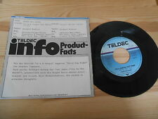 """7"""" Rock Three Dog Night - It's A Jungle Out There TELDEC Promo Sleeve"""