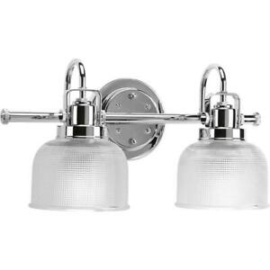 Archie Collection Two-Light Bath & Vanity by Progress Lighting