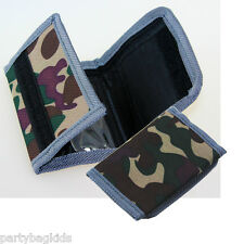 Kids' Boys' Children's CAMO CAMOUFLAGE MINI RIPPER WALLET.