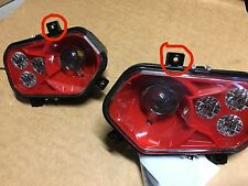 11-14 POLARIS RZR 800 NEW RED LED CONVERSION HEADLIGHTS KIT  900 XP STYLE!