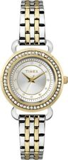 TIMEX Starlight Collection Uhr T2P480 feine Damen Armbanduhr bicolor Edelstahl