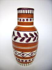 Jugendstil Keramik Vase 2524 Schramberg Majolika SMF Art Nouveau pottery Germany