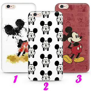 MICKEY MOUSE 1 MINNIE CARTOON Case Cover iPhone 4 5 SE 2 6 7 8 Xs MAX plus XR
