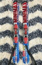 New listing SALOMON L99.9 Snowblades Minimax 105-80-100 R6.0 w/ Bindings