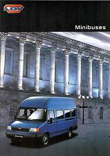 LDV Convoy Minibus 1998-99 UK Market Sales Brochure 13 & 17 Seat