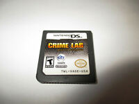 Crime Lab Body of Evidence (Nintendo DS) Lite DSi XL 3DS 2DS Game