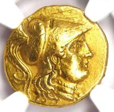 Macedon Alexander the Great III AV Gold Stater Coin 336 BC - NGC Choice XF (EF)