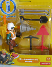 New Imaginext City Set  Construction Worker