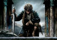 THE HOBBIT; THE BATTLE OF THE FIVE ARMIES Movie PHOTO Print POSTER Film Art 001