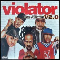 VIOLATOR: THE ALBUM V2.0 - 2001 2X VINYL LP COMPILATION MISSY, CEE-LO, LL SEALED