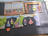 Remco 1960 Show Boat Set Replacement Parts Cinderella Has Damage