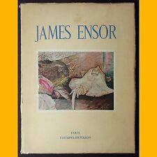 JAMES ENSOR Paul Fierens Éditions Hypérion 1943