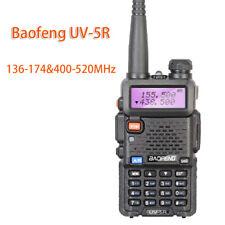 Baofeng UV-5R Walkie Talkie 136-174&400-520MHz UV5R 5W FM Transceiver Ham Radio