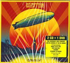 "LED ZEPPELIN ""CELEBRATION DAY""  2 cd + 1 dvd sealed"