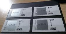 Briefmarke Individuell der Firma KuBuS- TOP Marken! 135, 145, 235, 285 cent RAR!
