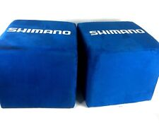 Shimano Ottomans pair of 2 Blue Microfiber used