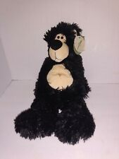"First & Main Thumples Black Bear Plush 1535 15"" Tall With Tags"
