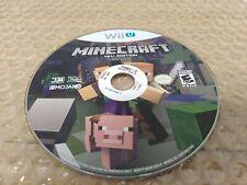 Minecraft (Wii U, 2015) *disc only*