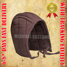 Helmet Cap Padded Arming Cap for Medieval Helmet Chainmail Soft Cotton Cap RFD27