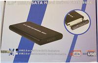 """USB 2.0 + eSATA to SATA 2.5"""" HDD Laptop Hard Disk Drive Storeage Enclosure 804"""