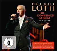 HELMUT LOTTI-THE COMEBACK ALBUM-LIVE IN CONCERT GESCHENK EDITION 2 CD+DVD NEW!