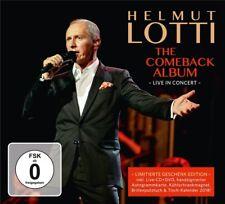 HELMUT LOTTI-THE COMEBACK ALBUM-LIVE IN CONCERT GESCHENK EDITION 2 CD+DVD NEU