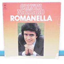 """33T Gianni NAZZARO Disque Vinyl LP 12"""" ROMANELLA - VINO AMARO - EPIC 81107"""