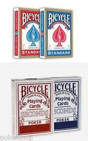 4 mazzi carte Bicycle : 2 Standard index + 2 Seconds