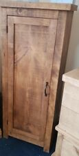 NEW SOLID WOOD RUSTIC CHUNKY HALL CUPBOARD , WOODEN CUPBOARD *MADE TO MEASURE*