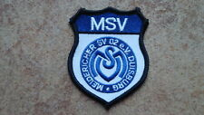 Aufnäher Meidericher SV02 e.V. MSV Duisburg (Nr.936