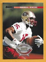 1996 DONRUSS TERRELL OWENS ROOKIE CARD RC #237 49ERS NMT/MT VERY NICE!!