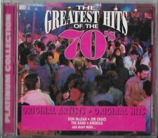 Greatest Hits of the 70's, Vol. 5 by Various Artists (CD, Feb-1999, Platinum Dis