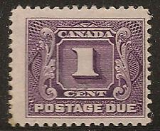 CANADA UNUSED J1    MH       (T507)