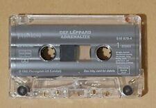 Deff Leppard Adrenalize Cassette