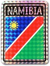 Namibia Country Flag Reflective Decal Bumper Sticker