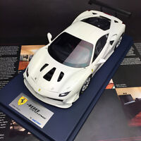New 1/18 Looksmart Ferrari 488 Challenge car model #70 Bianco White LS18_RC010E