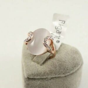 Girl's Genuine 18K Rose Gild Gold Opal Gift / Party Ring size 8