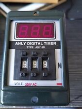 AC 220V Power ON Delay Timer Time Relay 1-999 Minute