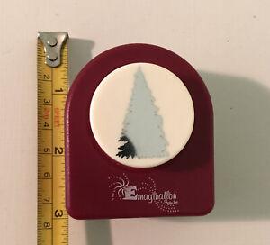 EK Tools Paper Punch Large Christmas Tree New Package Scrapbook Card Making Rare