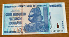 2008 100 TRILLION DOLLARS ZIMBABWE BANKNOTE AA P-91 GEM Unc Note Currency <br/> 300K+++ Feedback -  Over 2,000 Pcs Sold - 100% Genuine