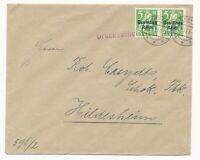 DR MiNr 119 waag Paar Speyer 22.2.21 Drucksache nach Hildesheim