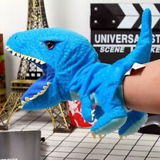 Jurassic world Blue Dinosaurs Puppet Soft Plush Toy Doll New